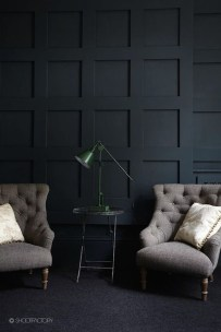 Best Living Room Ideas With Black Walls 13
