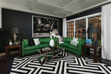Best Living Room Ideas With Black Walls 25