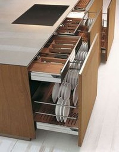 Functional Dish Storage Inspirations For Your Kitchen 08