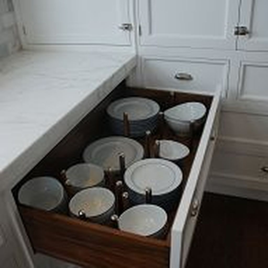 Functional Dish Storage Inspirations For Your Kitchen 49