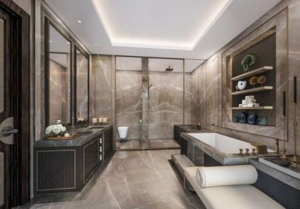 Inspiring Bathrooms With Stunning Details 42