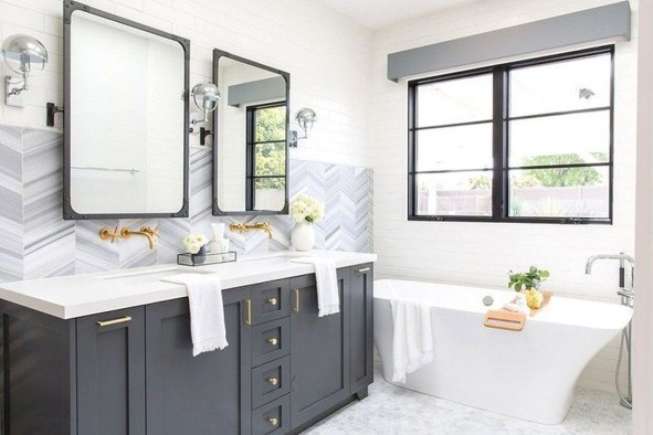 Inspiring Bathrooms With Stunning Details 43