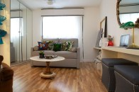 Minimalist Micro Apartment With A Hint Of Color 07