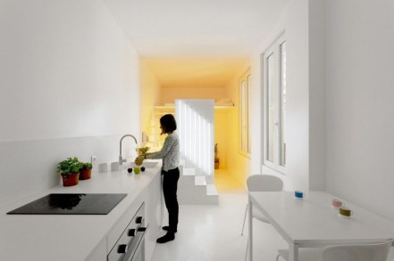 Minimalist Micro Apartment With A Hint Of Color 42