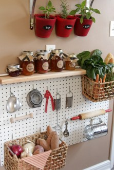 Smart Ways To Organize Your Home With Pegboards 14