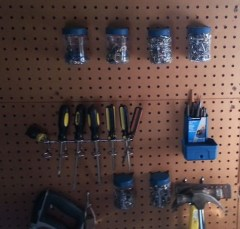 Smart Ways To Organize Your Home With Pegboards 19