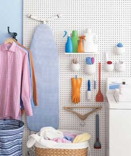 Smart Ways To Organize Your Home With Pegboards 36