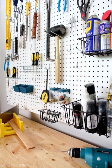 Smart Ways To Organize Your Home With Pegboards 42