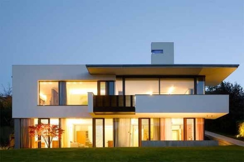 Spectacular Designs Of Minimalist Two Storey House 08