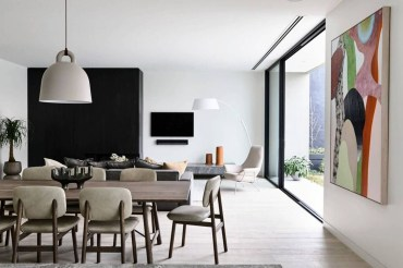 Spectacular Designs Of Minimalist Two Storey House 36