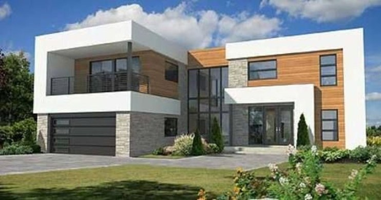 Spectacular Designs Of Minimalist Two Storey House 50
