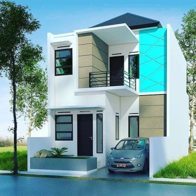 Spectacular Designs Of Minimalist Two Storey House 51