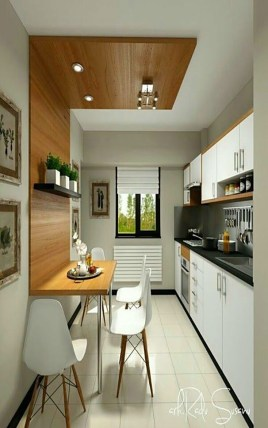 Tips On Decorating Small Kitchen 07