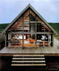 A Wooden House That's Simple On The Outside But Modern On The Inside 01