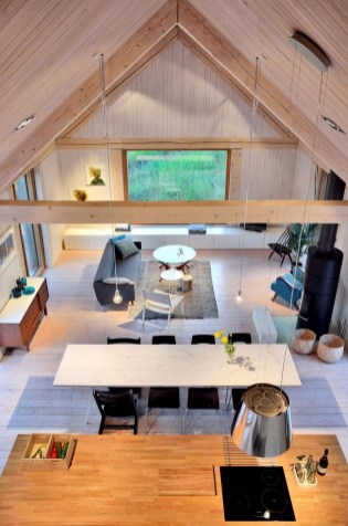 A Wooden House That's Simple On The Outside But Modern On The Inside 27