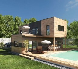 A Wooden House That's Simple On The Outside But Modern On The Inside 31