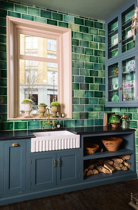 Beautiful Kitchen Designs With A Touch Of Wood 40