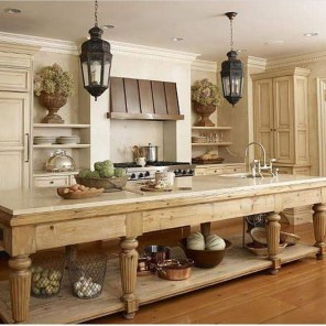 Beautiful Kitchen Designs With A Touch Of Wood 45