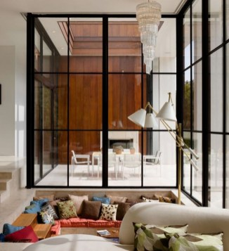 Beautiful Open Kitchens With Unique Partitions And Room Dividers 01