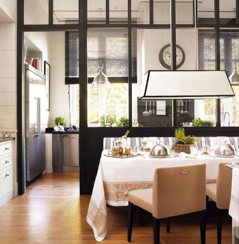 Beautiful Open Kitchens With Unique Partitions And Room Dividers 10