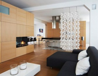 Beautiful Open Kitchens With Unique Partitions And Room Dividers 44