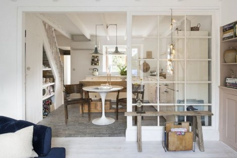 Beautiful Open Kitchens With Unique Partitions And Room Dividers 45