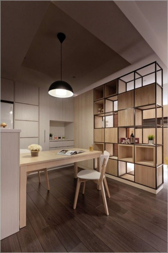 Beautiful Open Kitchens With Unique Partitions And Room Dividers 48