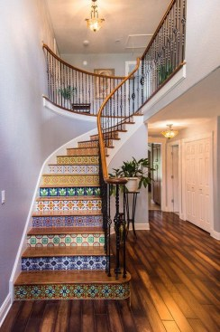Beautiful Tiled Stairs Designs For Your House 24