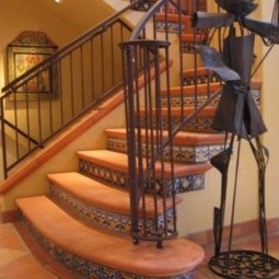 Beautiful Tiled Stairs Designs For Your House 38