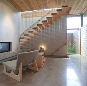 Charming And Minimalist Wooden House 26