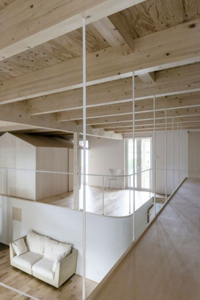 Charming And Minimalist Wooden House 28