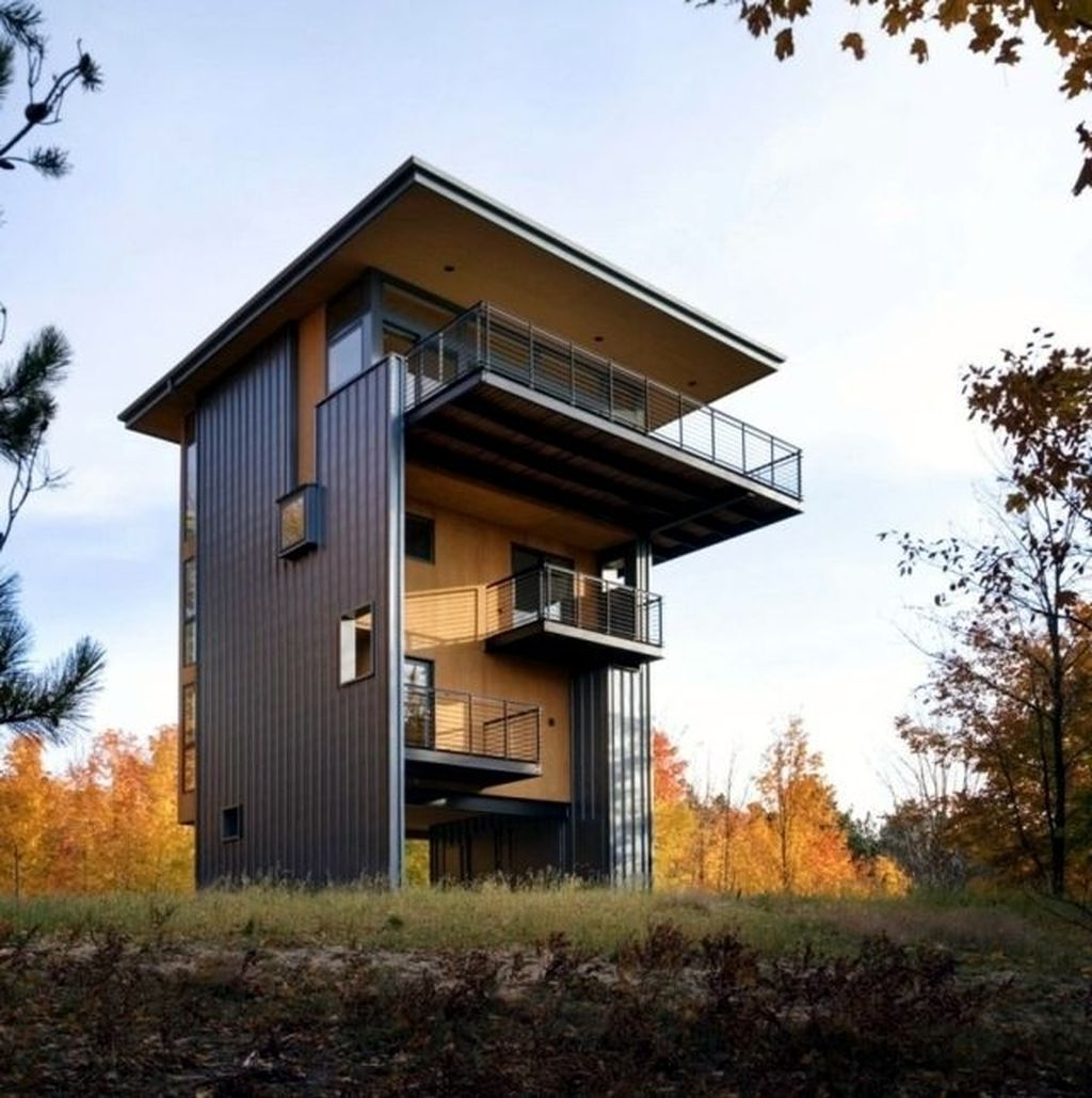Charming And Minimalist Wooden House 32