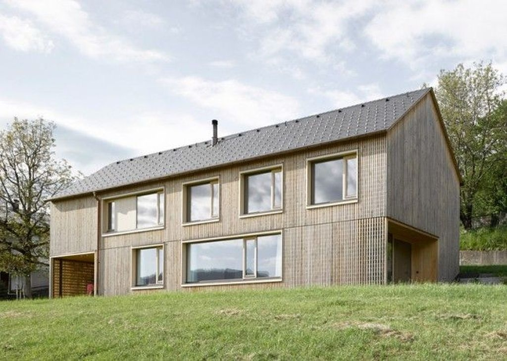 Charming And Minimalist Wooden House 37