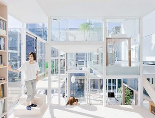 Functional Japanese House For Small Family 08