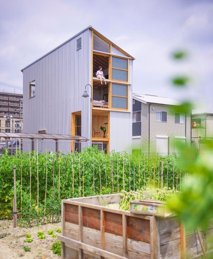 Functional Japanese House For Small Family 14