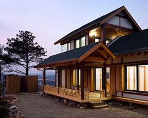 Functional Japanese House For Small Family 35
