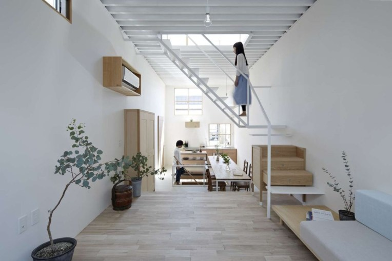 Functional Japanese House For Small Family 36