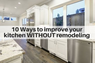 Ideas To Update Your Kitchen On A Budget 13