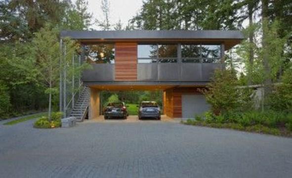Inspirations For Minimalist Carport Design 11