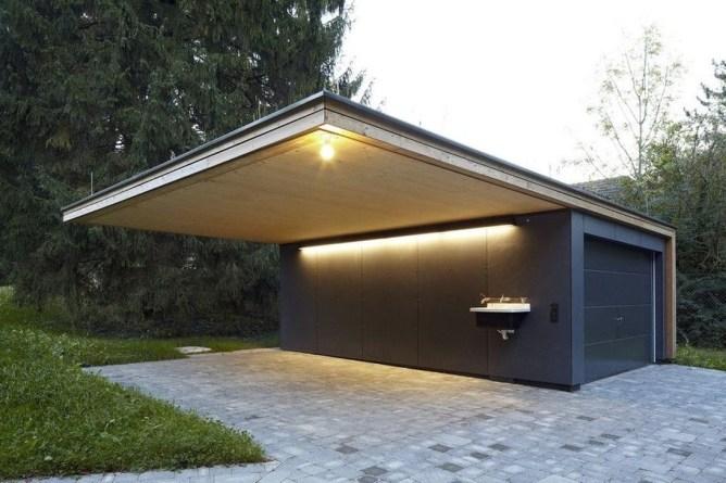 Inspirations For Minimalist Carport Design 46