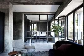 Minimalist Industrial Apartment 36