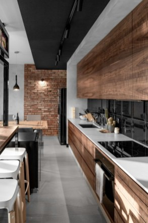 The Wood Interior In This Split Level House In South Jakarta Is Fantastic 18