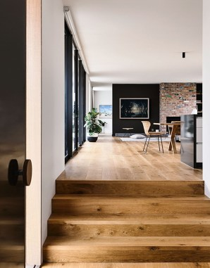 The Wood Interior In This Split Level House In South Jakarta Is Fantastic 52