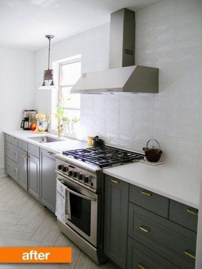Wonderful Small Kitchen Transformations 43