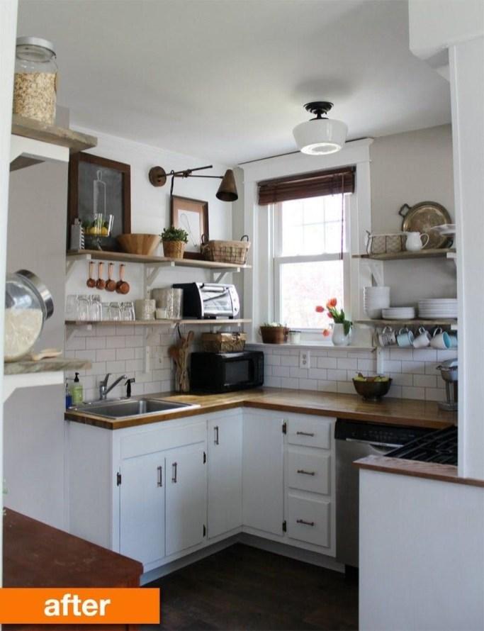 Wonderful Small Kitchen Transformations 44