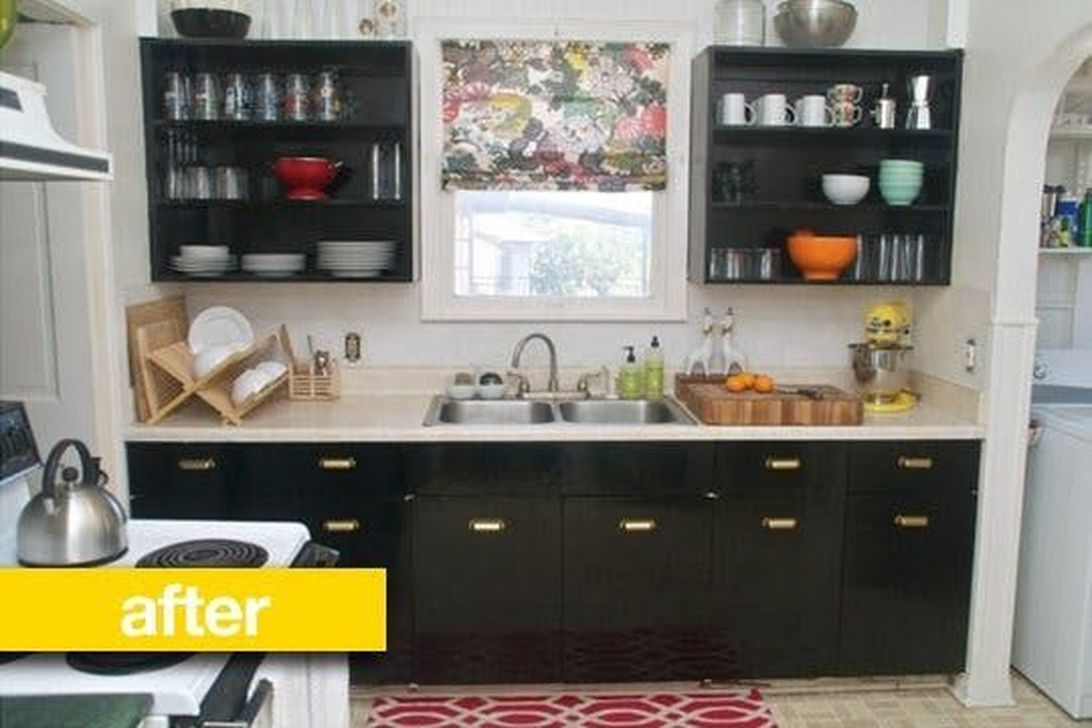 Wonderful Small Kitchen Transformations 54