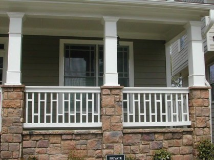 Wood Railing Ideas For Your House Style 13