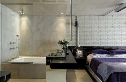 Amazing Bedroom Designs With Bathroom 08