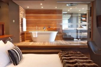 Amazing Bedroom Designs With Bathroom 36