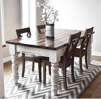 Amazing Farmhouse Kitchen Tables Ideas 16